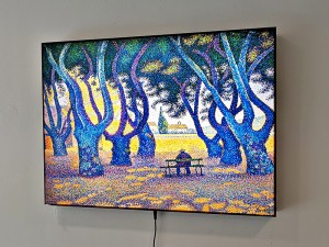 LED светеща картина Paul Signac, Place des Lices