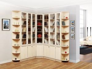 библиотека OLIVIA дъб - примерна композиция 2