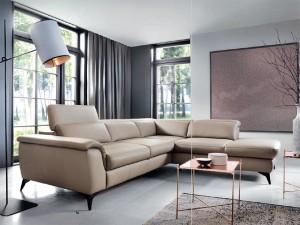 ъглов диван с механизъм за сън CALIA